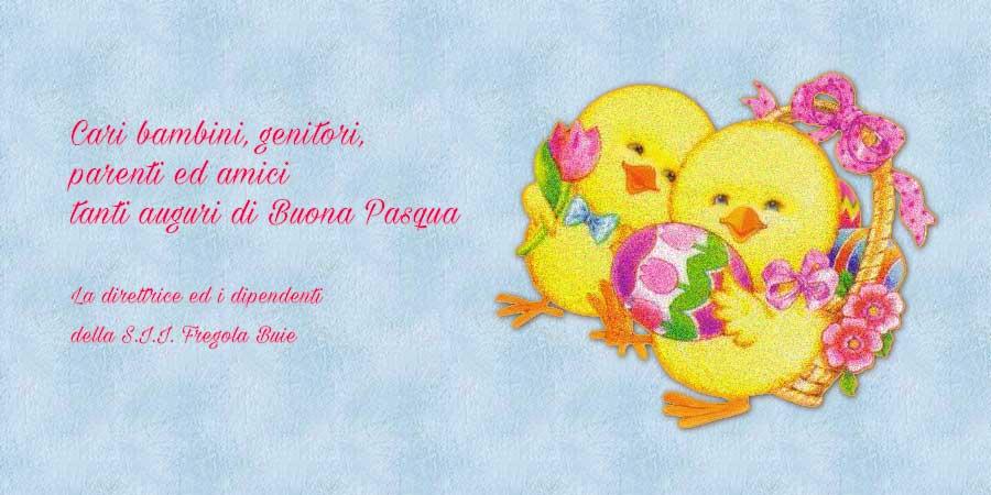 Buona Pasqua Fregola